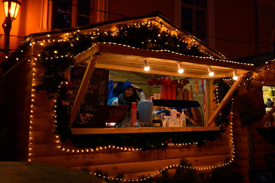 Праздничные витрины Одессы
