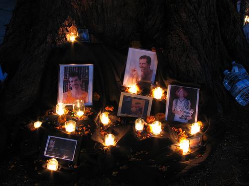 Bill Brent's Memorial, Dia de los Muertos 2012