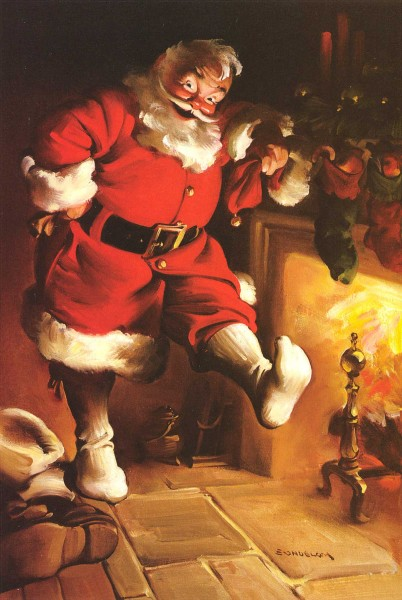 Santa_Fireplace