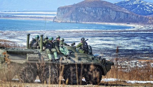 военные учения в ВВО
