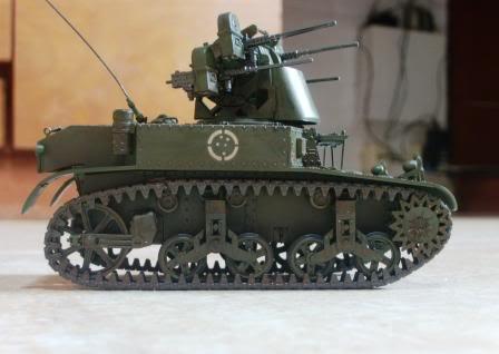 Альтернативный но неожиданно вполне реальный ЗСУ на шасси танка М3A1
