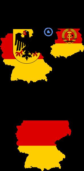 Flag_map_of_Germany_(separation).svg