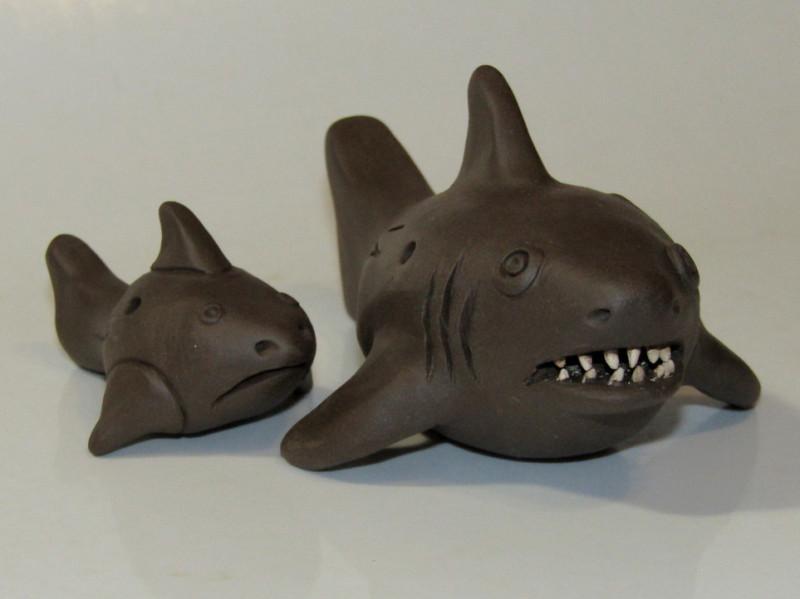 Акула, кераміка