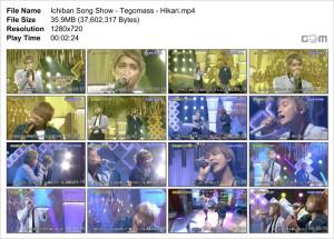 Ichiban Song Show - Tegomass - Hikari_Snapshot