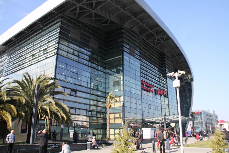 Вокзал Адлер новый