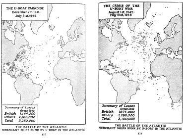 1950 The Second World War Volume 4 The Hinge Of Fate Рай поводных лодок