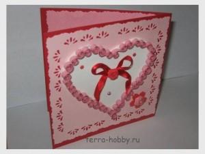открытки 14 февраля сердечки своими руками (1)