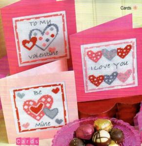 открытки 14 февраля сердечки своими руками (3)