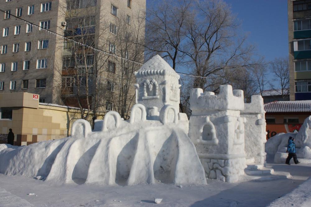 Открытки, картинки комсомольск на амуре зима