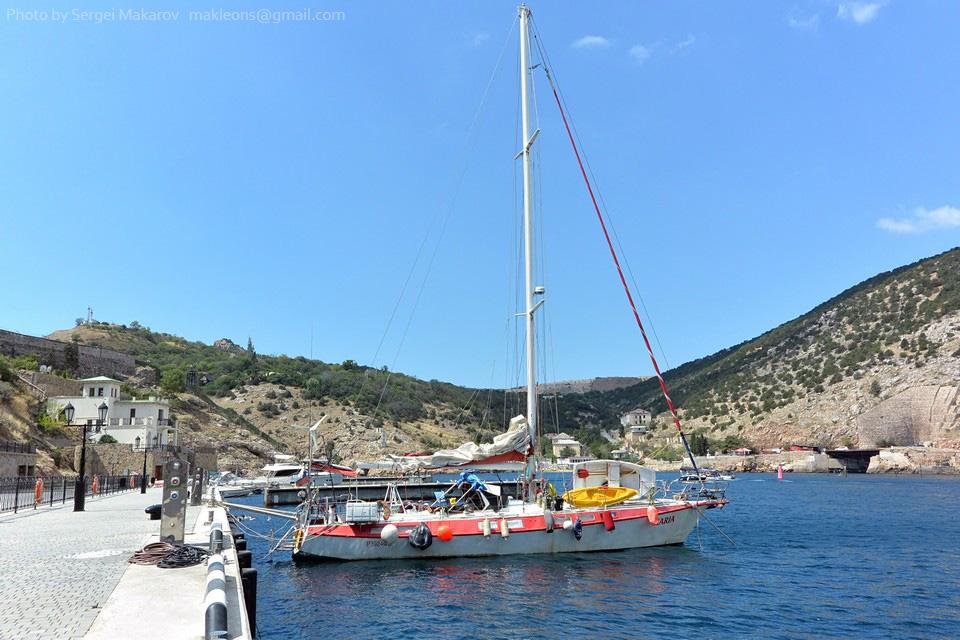 """Яхта Maria, проект """"Гидра""""."""