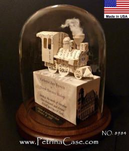 8984 3D_Papercut Train