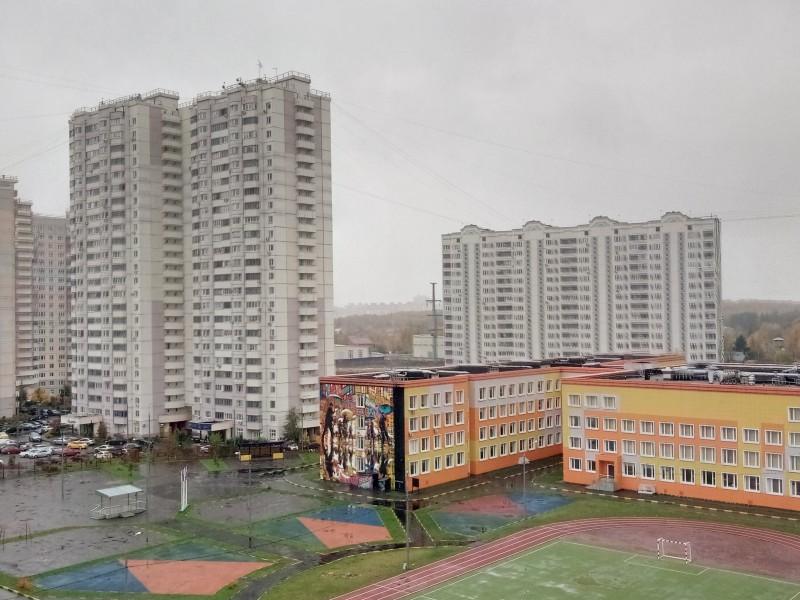 """Микрорайон """"Новая Трёхгорка"""", Одинцовский городской округ, Московская область."""