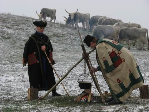 Венгерские пастухи. Фото из Интернета