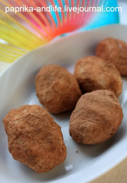 """Мои домашние конфеты """"Ирландская картошка"""""""