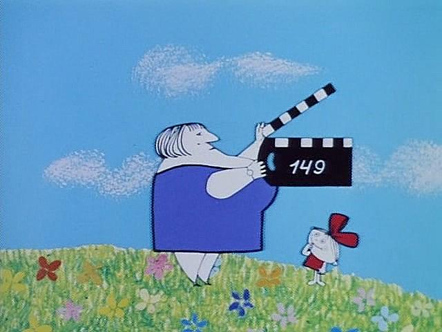 Кадр из мультика «Фильм, фильм, фильм» (СССР, 1968 г, 12+)