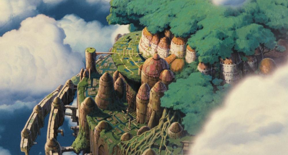 Небесный замок Лапута. Любимый мультфильм и образы, вдохновившие его