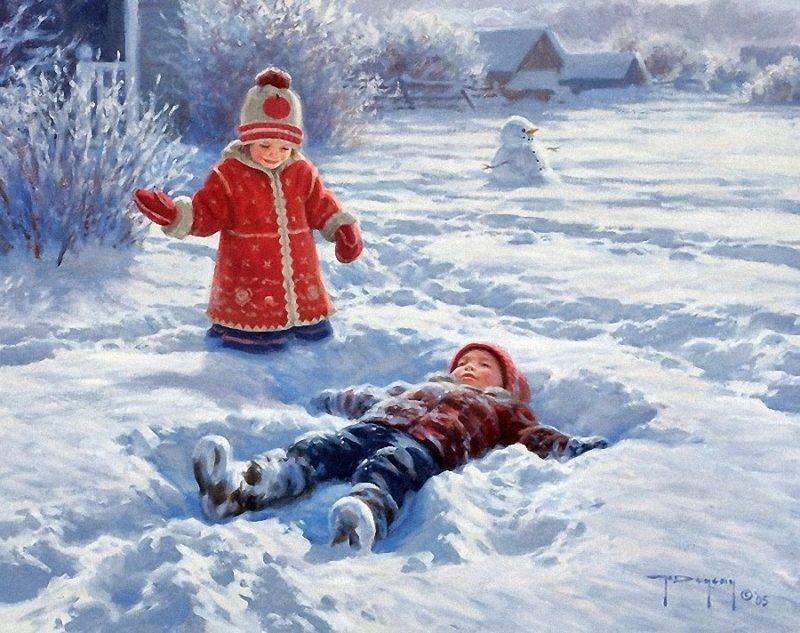 Картина Роберта Дункана