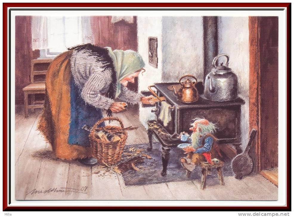 Норвежский иллюстратор Кьелл Эйнар Мидхью / Kjell E Midthun