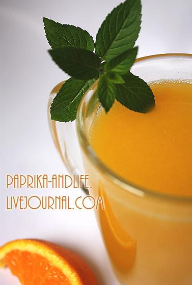 Оранжад с шоколадной мятой