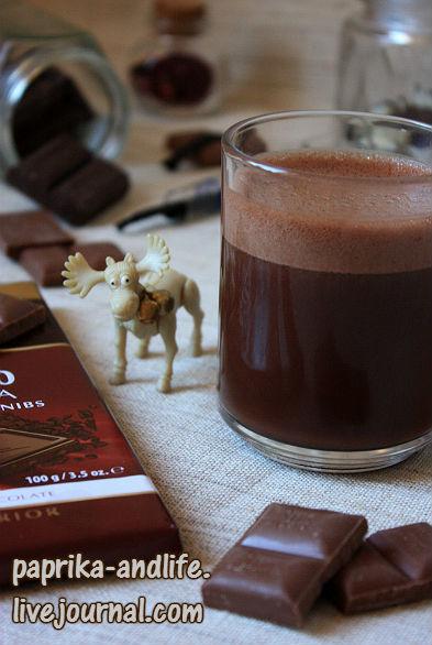Горячий шоколад по рецепту Хестона Блюменталя