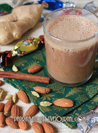 Горячий шоколад на ореховом молоке