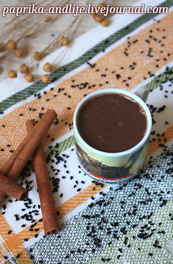 Горячий шоколад с ромом (рецепт Найджелы Лоусон)
