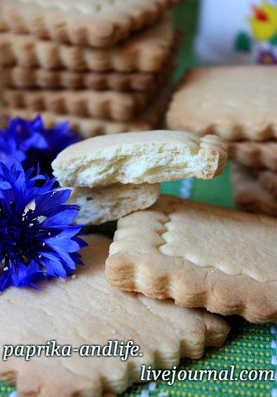 производственная рецептура печенья