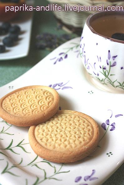 Рецепт печенья для штампа