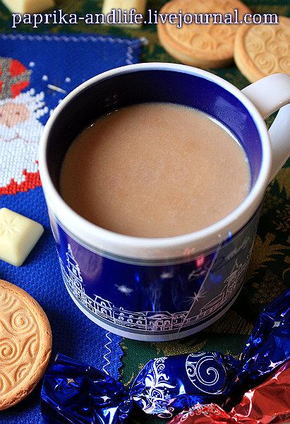 Какао с белым шоколадом