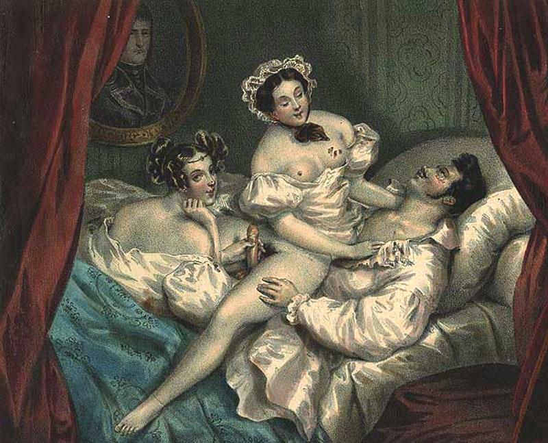Ретро сюжеты эротического и порнографического характера