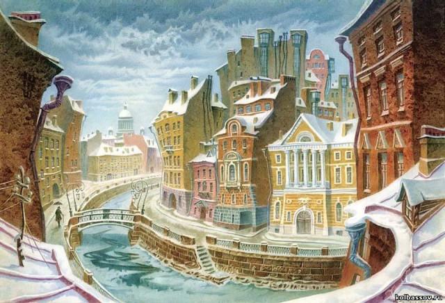 на городе моя в рисунок улица тему