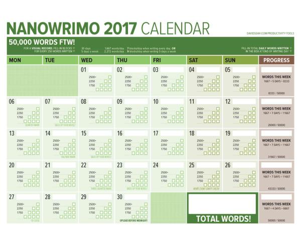 нано-календарь