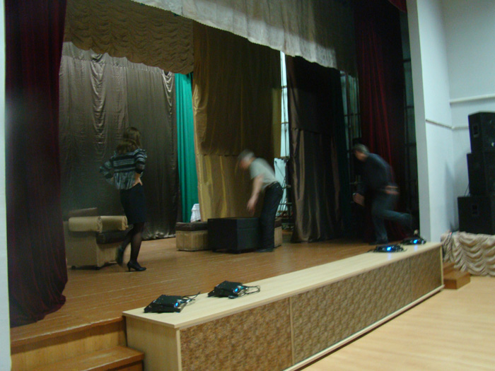 спектакль в любительском театре