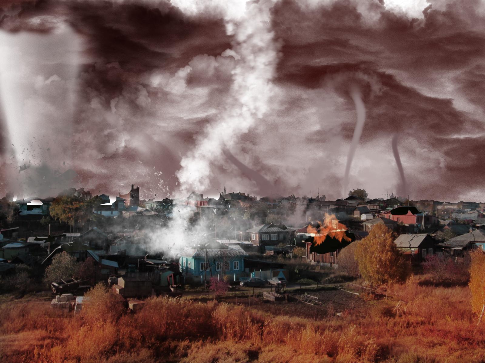 деревня торнадо