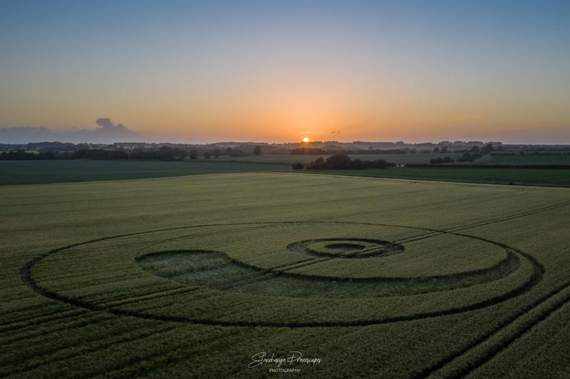 21 июня 2020 недалеко от деревни Монктон в Уилтшире, Великобритания