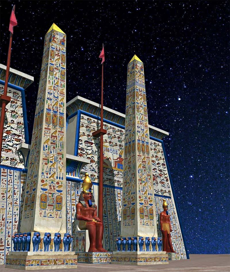 Цветовая насыщенность Древнего Египта