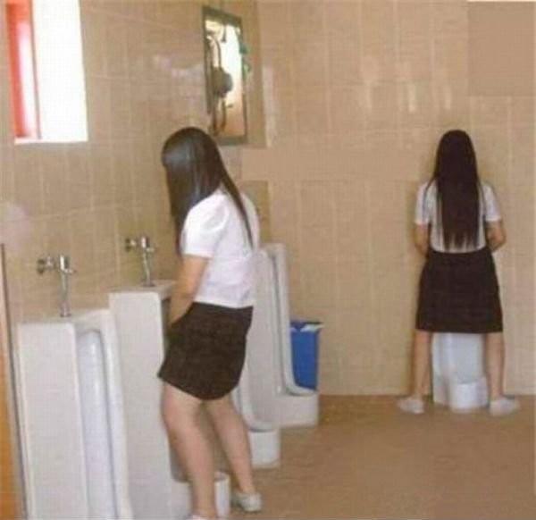 Японские женские туалеты 10