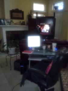 desk are