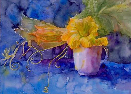 цветы тыквы 3
