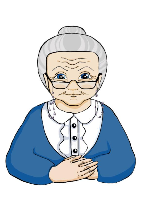 Что нарисовать бабушке картинки