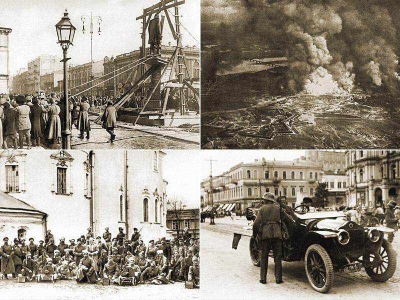 Киевские перевороты. Город, где 14 раз менялась власть, с 1917 по 1920