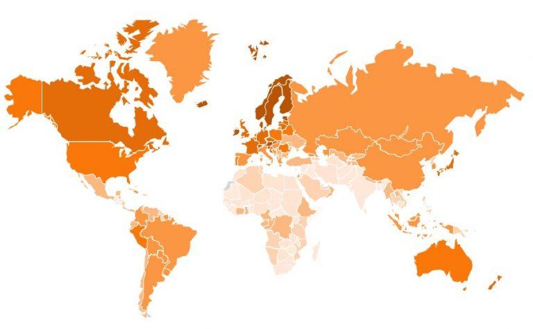 Карта конкурентоспособности
