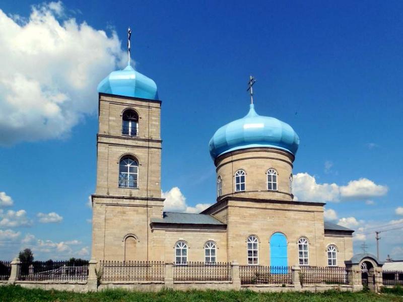 Спиридоновка. Храм
