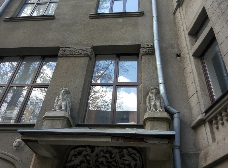Дома с химерами. Чернышевская 79