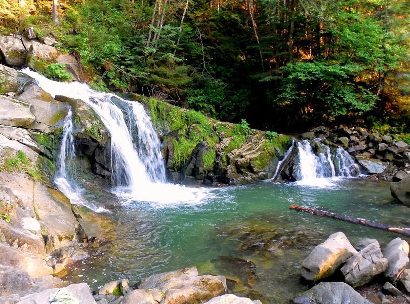 Водопад Каменка