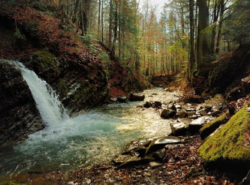 Водопады Карпат #3