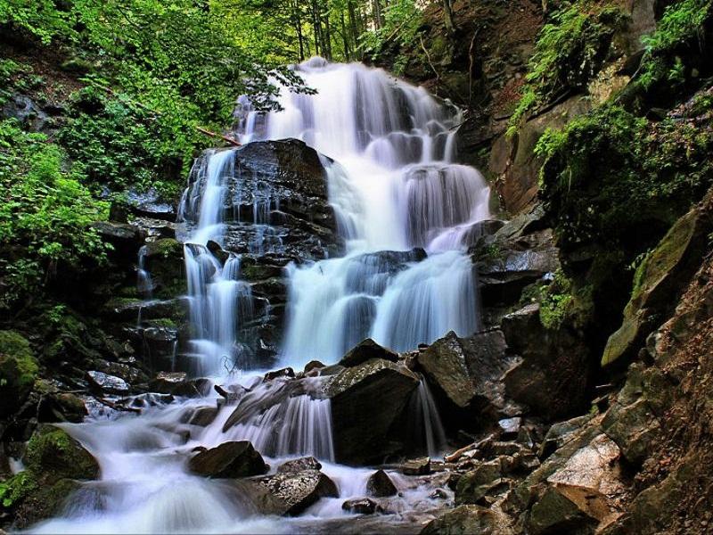 Водопады Карпат #2