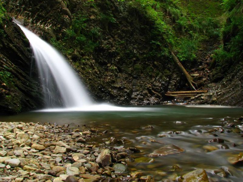 Водопады Карпат