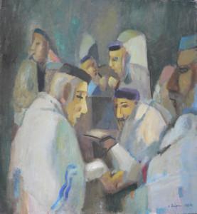 Иосиф Островский _Синагога_,  1986 г.