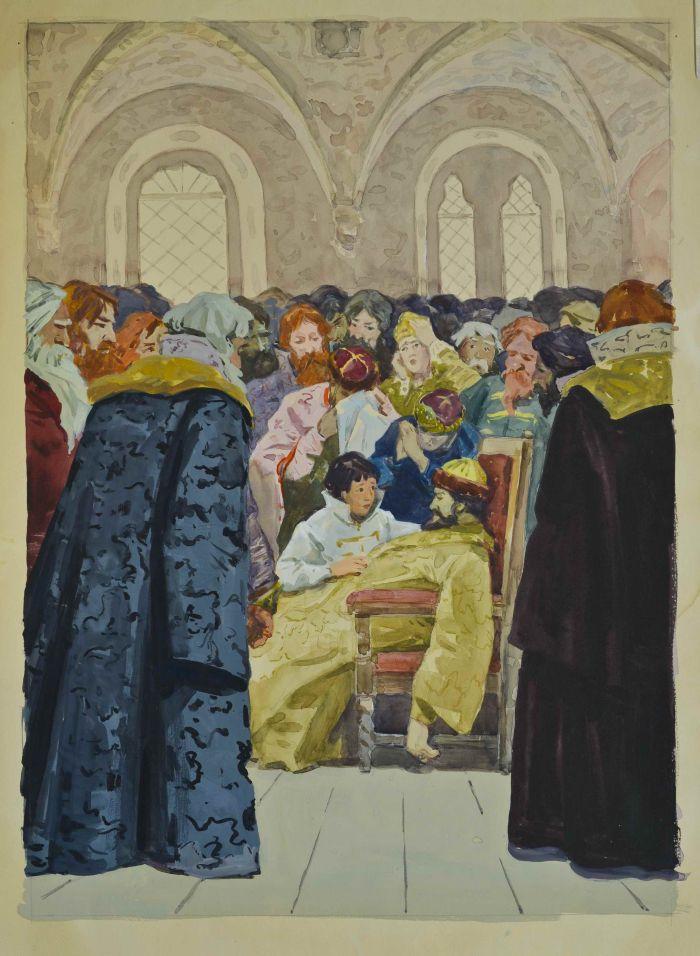 иллюстрации к борису годунову пушкина суриков перов музыка, любимые